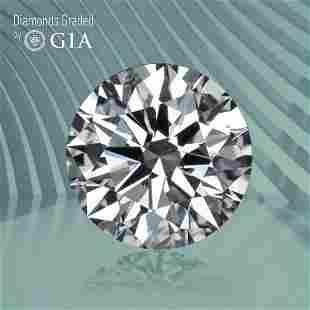 0.51 ct, Color E/VVS2, Round cut GIA Graded Diamond