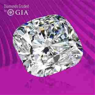 3.02 ct, Color H/VVS1, Cushion cut GIA Graded Diamond