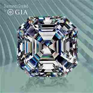 1.00 ct, Color D/VS1, Sq. Emerald cut GIA Graded