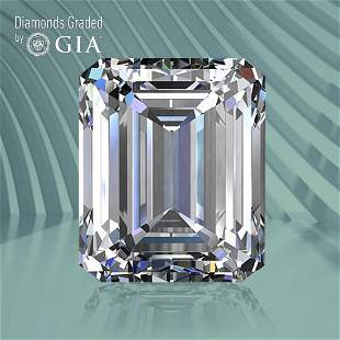 1.30 ct, Color G/IF, Emerald cut GIA Graded Diamond