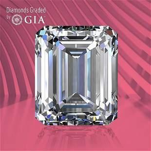 0.80 ct, Color D/IF, Emerald cut GIA Graded Diamond