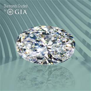 2.57 ct, Color G/VS2, Oval cut GIA Graded Diamond