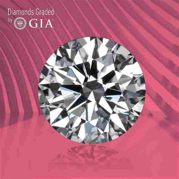 1.00 ct, Color D/VVS2, Round cut GIA Graded Diamond