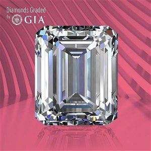 3.02 ct, Color D/FL, TYPE IIa Emerald cut GIA Graded