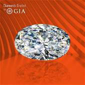 3.03 ct, Color D/VVS1, Oval cut GIA Graded Diamond