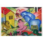 Franz Marc (after): Le Reve