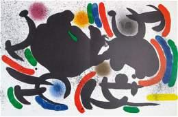 Joan Miro: Plate VII