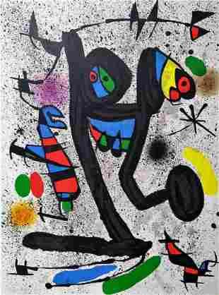 Joan Miro: Le Demoiselle aux Papillons