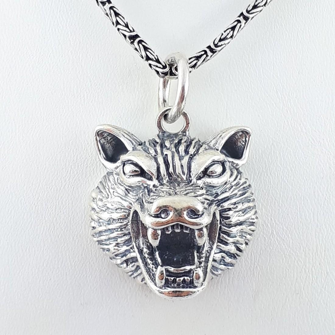925 Sterling Silver - Necklace & Pendant Set