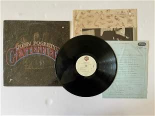 John Fogerty – Centerfield WITH RARE INSERT.