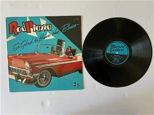 Rod Piazza – So Glad To Have The Blues