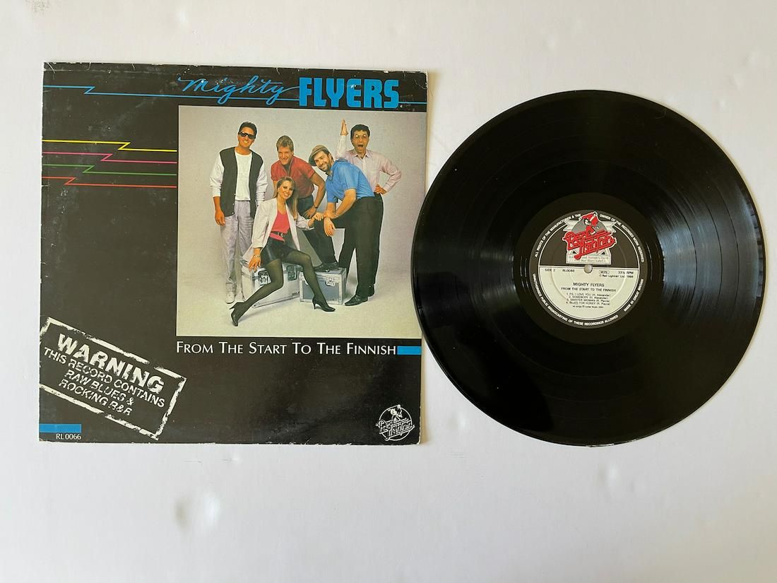 The Mighty Flyers – From The Start To The Finnish