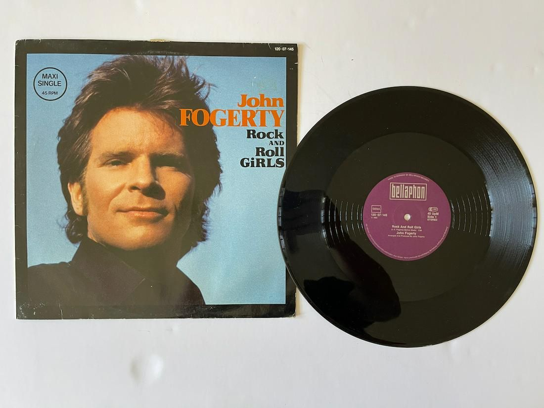John Fogerty – Rock And Roll Girls ON Bellaphon!