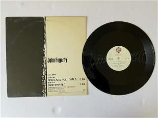 DJ PROMO John Fogerty – Rock And Roll Girls/Centerfield