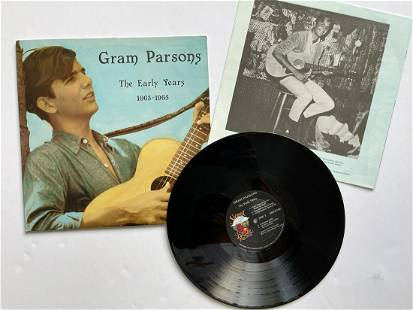Gram Parsons – The Early Years 1963-65