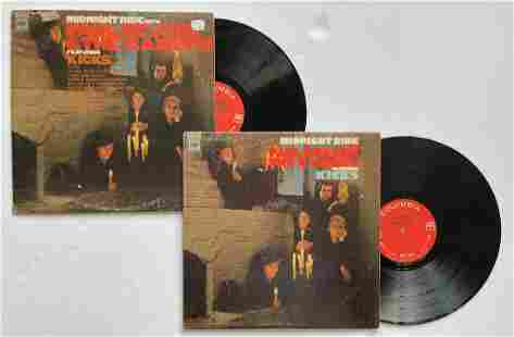 A SET OF 2 PAUL REVERE AND THE RAIDERS MIDNIGHT RIDE