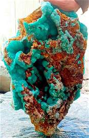 27 Kg Beautiful Rare Hemimorphite Full Bubbles Specimen