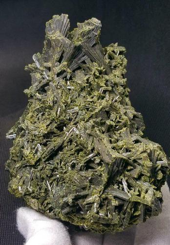 632 Grams Undamaged Natural Epidote Tree Specimen -