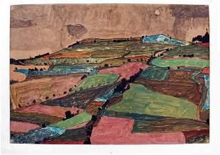 Egon Schiele: Austrian landscape