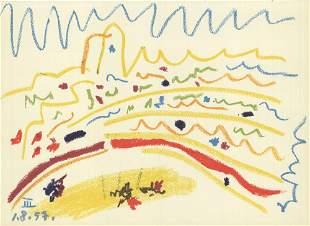 Pablo Picasso: Bullring III