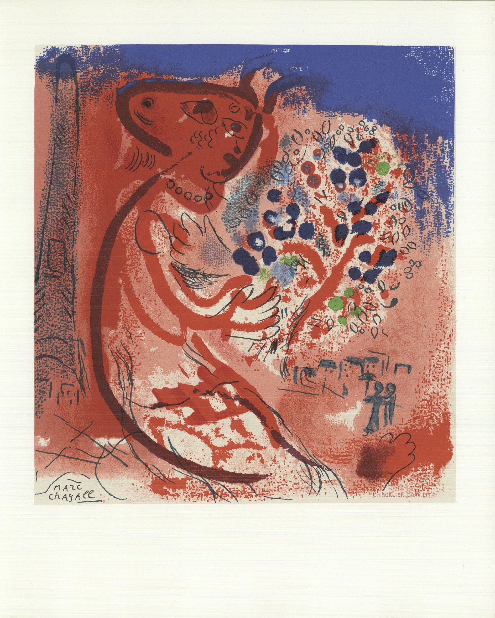 Marc Chagall: Composition