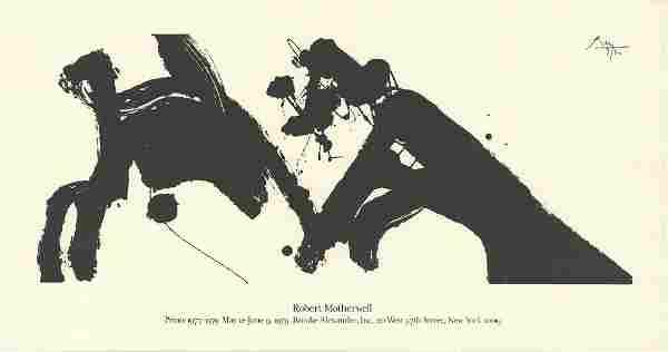 Robert Motherwell: Dance I