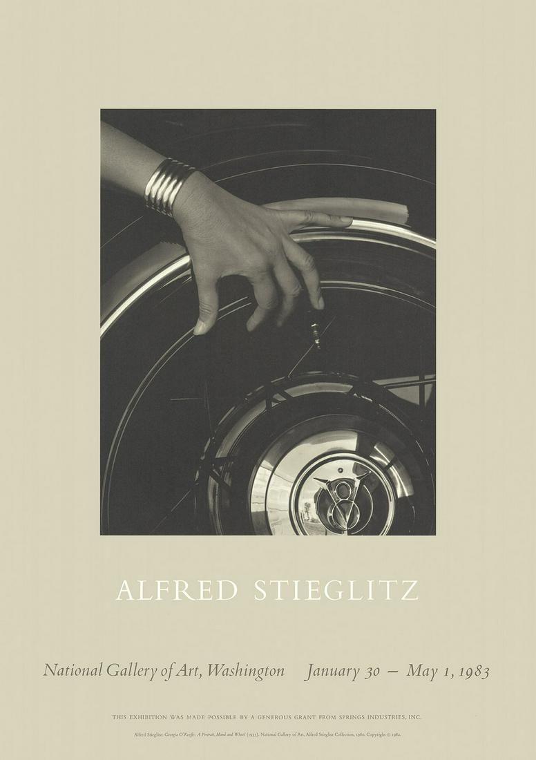 Alfred Stieglitz: Georgia O'Keefe: A Portrait, Hand,