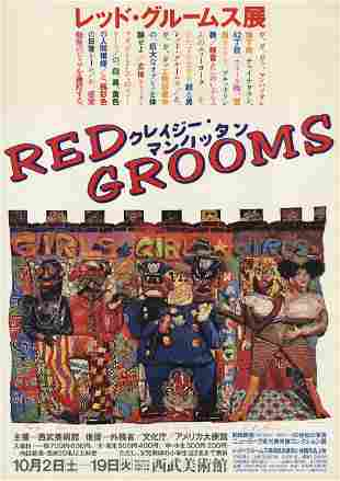 Red Grooms: Girls Girls Girls