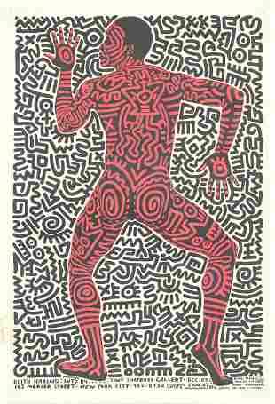 Keith Haring: Into 1984 - Tony Shafrazi Gallery
