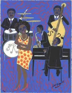 Faith Ringgold: Jazz Stories: Mama Can Sing Papa Can