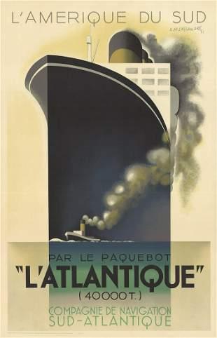 A.M. Cassandre: L'Atlantique