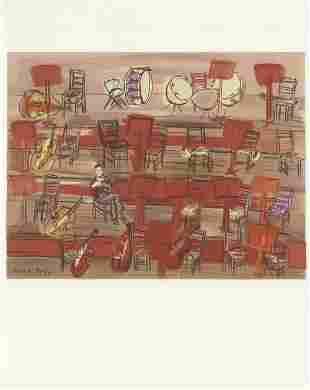 Raoul Dufy: L'Entracte