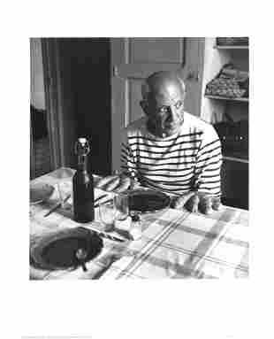 Robert Doisneau: Les Pains de Picasso, Vallauris (1952)