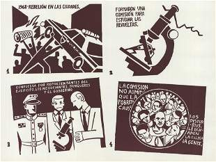 Black Cat Collective: Liberation of Puerto Rico Panel 1