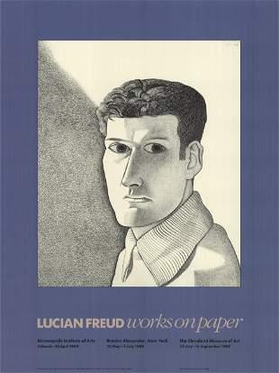 Lucian Freud: Man at Night (Self Portrait)