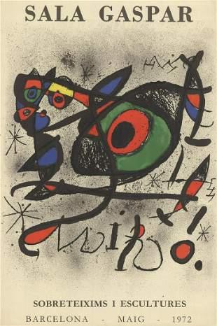 Joan Miro: Sala Gaspar - Sobreteixims i escultures