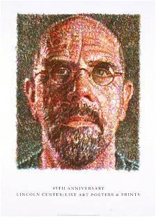 Chuck Close: Self Portrait