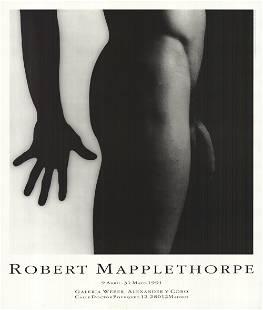 Robert Mapplethorpe: Sin Titulo (Milton Moore)