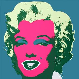 Andy Warhol: Sunday B Morning Marilyn (After Warhol)