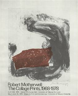 Robert Motherwell: The Collage Prints, 1968-1978