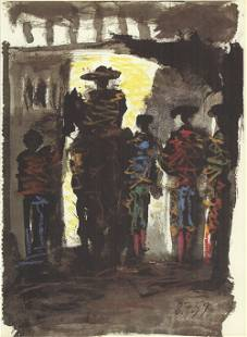 Pablo Picasso: Toros III