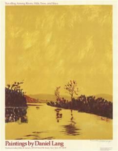 Daniel Lang: Traveling Among Rivers, Hills, Trees and