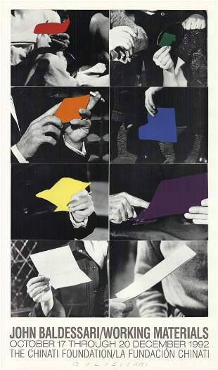 John Baldessari: Working Materials