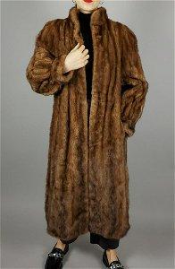 Brown Mink Fur Coat