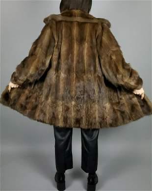 Brown Minkfur Jacket