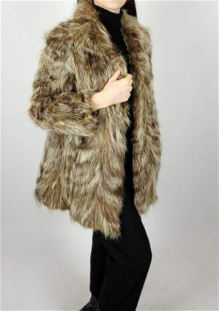 Finn Raccoon Fur Jacket