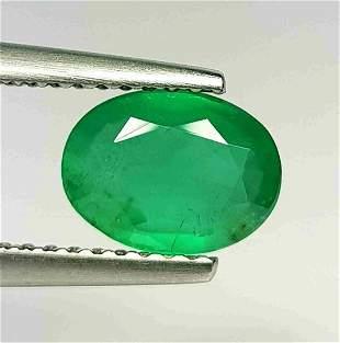 Natural Emerald Oval Cut 1.06 ct