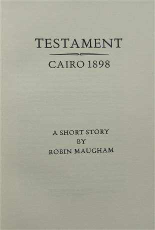 Testament - Cario 1898