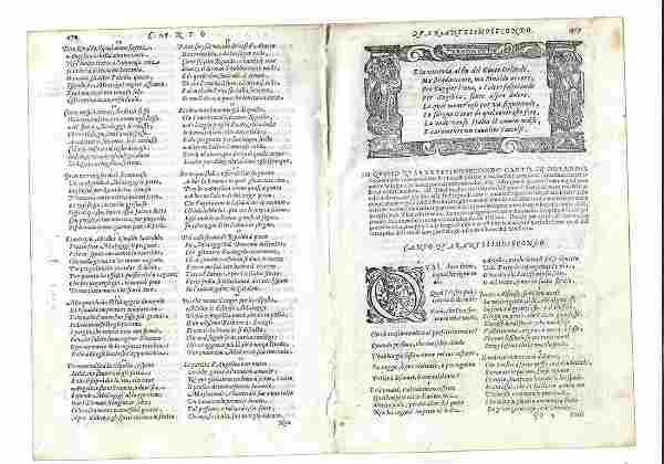 1603 Bifolium Orlando Furioso