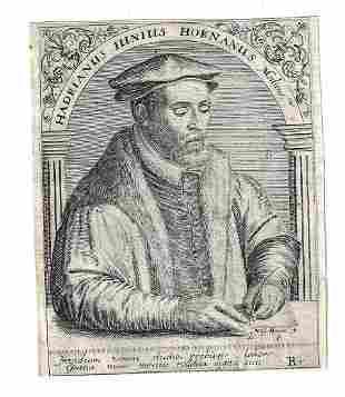 1650 De Bry Engraving Hornanus Medicine